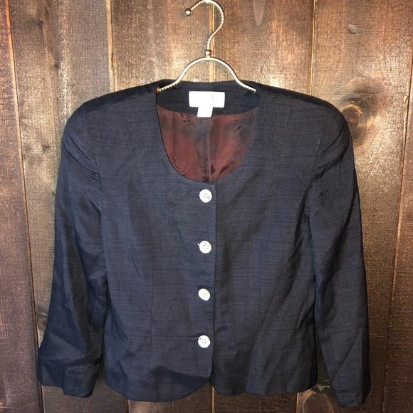 Vintage Christian Dior Black Blazer Jacket